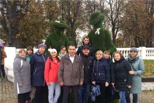 Сотрудники Госветслужбы Чувашии приняли участие во Всероссийском дне ходьбы