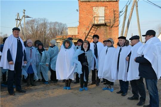 В Вурнарском районе открылся новый животноводческий объект