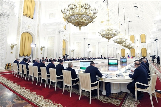 Владимир Путин провел в Кремле заседание Государственного совета, посвященное государственной аграрной политике