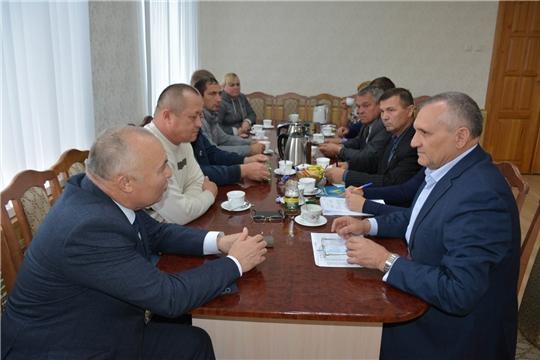 Состоялось совещание с руководителями сельскохозяйственных предприятий района