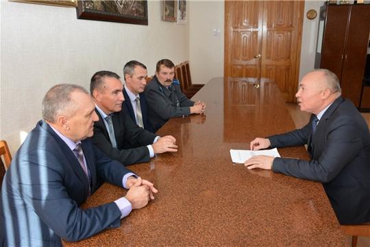 Рабочий визит руководителя Госветслужбы Чувашии Сергея Скворцова в Вурнарский район