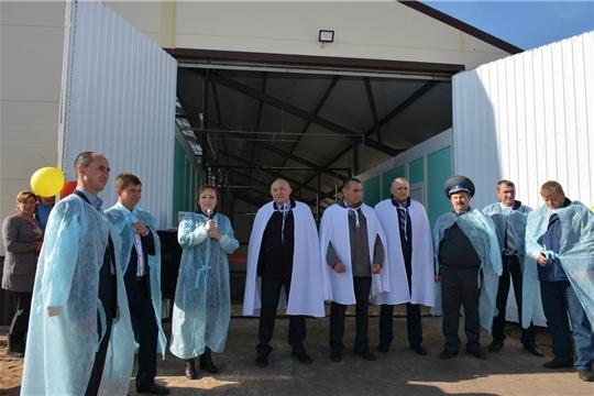Открытие коровника на 100 голов в КФХ Фадеева А.Н