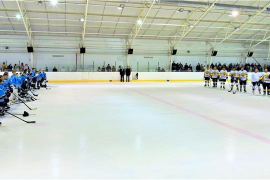Товарищеская встреча по хоккею