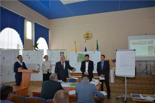Общественное обсуждение проекта по благоустройству парка культуры и отдыха в поселке Вурнары