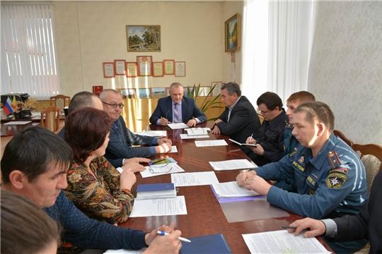 На районной комиссии обсуждены вопросы обеспечения пожарной безопасности
