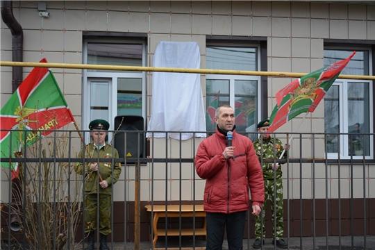 В поселке Вурнары состоялось открытие мемориальной доски заслуженному работнику культуры Владимиру Михайлову