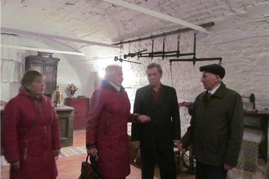 29 октября Дом-музей Н.Д.Мордвинова встретил участников республиканского праздника, посвященного 25-летию ООО «Союз пенсионеров России».