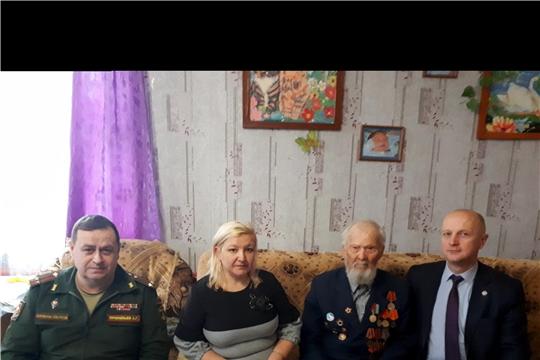Вручение Юбилейной медали «75 лет освобождения Белоруссии от немецко-фашистских захватчиков»