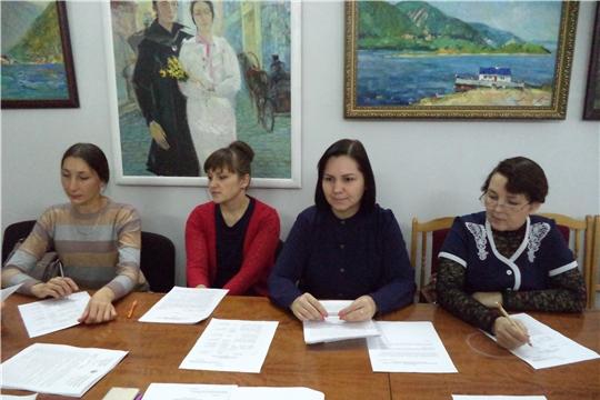 Заседание Ядринского районного отделения Чувашского национального конгресса