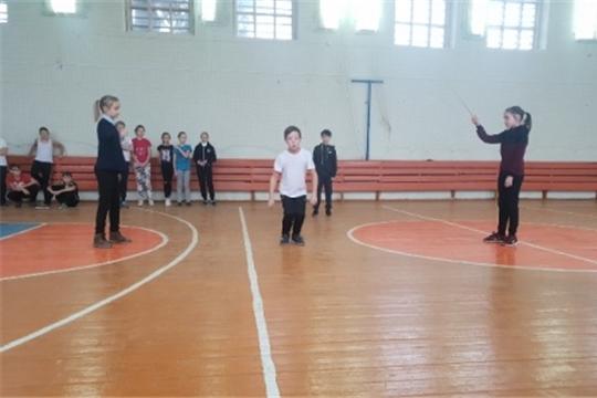 Гимназисты – участники Международной акции по роуп-скиппингу «На спорте!»
