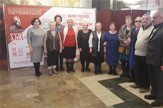 Ветераны Ядринского района побывали  на оперном фестивале в г. Чебоксары