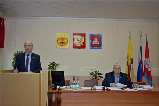 Состоялось  сорок седьмое заседание Ядринского районного Собрания депутатов шестого созыва