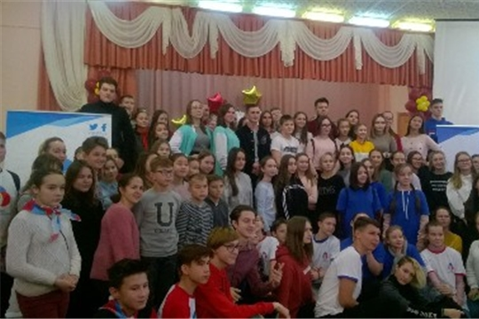 Актив РДШ МБОУ «Гимназия №1» г.Ядрин вновь на «Образовательном воскресенье»