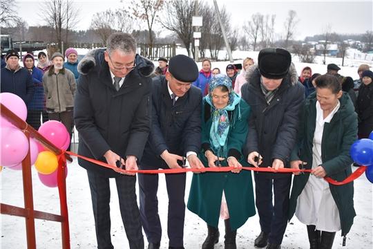 В рамках Единого информационного дня в Ядринском районе открыт новый ФАП