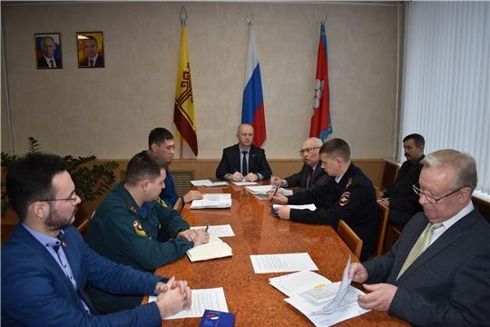 В администрации района состоялось заседание антитеррористической комиссии