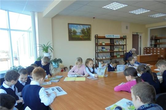 День чувашского языка в библиотеке