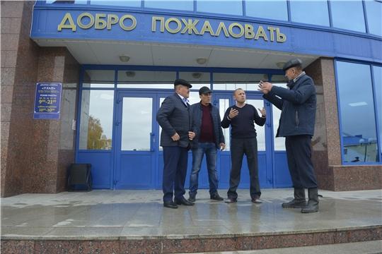 Глава администрации Николай Миллин посетил объекты капитального ремонта