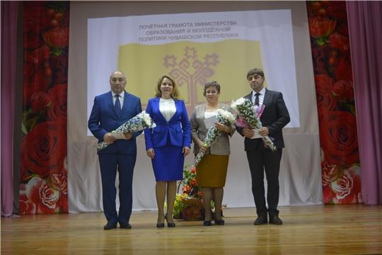 В Яльчикском районе торжественно отметили День учителя и День дошкольного работника