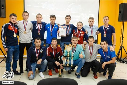 Завершился чемпионат любительской футбольной лиги города Чебоксары в формате 8х8 сезона 2019 года