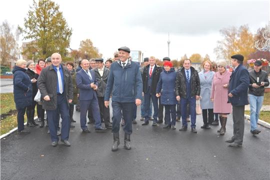 С целью обмена опытом Яльчикский  район посетила делегация из  Канашского района.