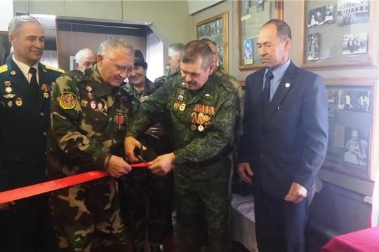 Открытие экспозиции воинской славы группы войск ГСВГ» в музее к 50-летию районной организации