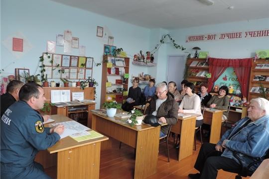 В рамках Единого информационного дня на территории Малотаябинского сельского поселения состоялся День профилактики пожаров