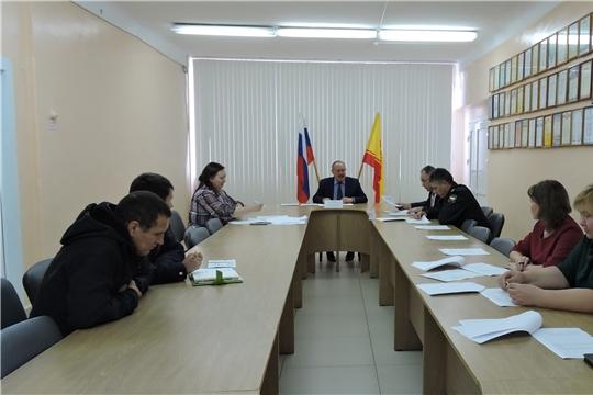 Состоялось очередное заседание Межведомственной комиссии по вопросам повышения доходов консолидированного бюджета Яльчикского района