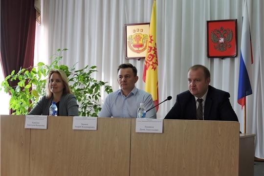 День регионального отделения Фонда социального страхования Российской Федерации по Чувашской Республике проведен в Яльчикском районе