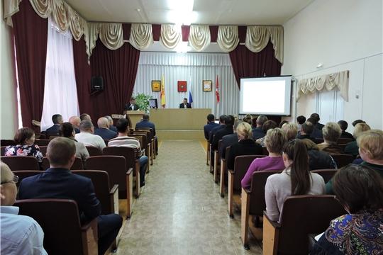 В Яльчикском районе состоялось совещание с руководителями сельхозорганизаций по итогам 9 месяцев 2019 года
