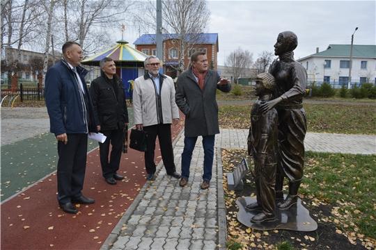 Сотрудники Чувашского государственного института гуманитарных наук посетили Яльчикский район
