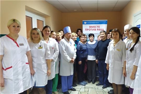 Яльчикскую ЦРБ посетили специалисты Республиканского онкологического диспансера