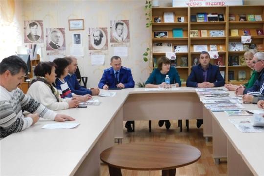 Занятие консультационного пункта «Ассоциация юристов России»: Права и благополучие людей с ограниченными возможностями