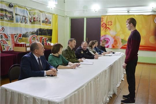 В Яльчикском районе прошло заседание призывной комиссии