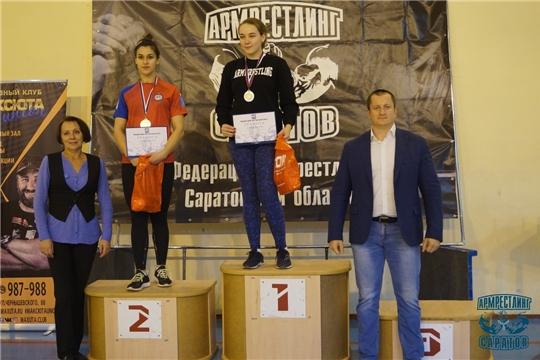 Анна Гаврилова – чемпионка Саратовской области по армрестлингу