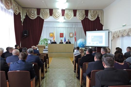 Состоялось очередное заседание Собрания депутатов Яльчикского района