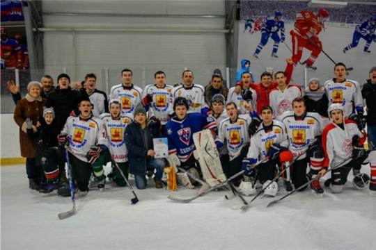 ХК «Яльчики» - победитель республиканского хоккейного турнира «Volga Challenge Cup» (осенний кубок)