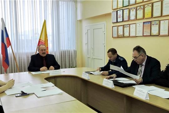 Заседание межведомственной комиссии по вопросам повышения доходов консолидированного бюджета Яльчикского района