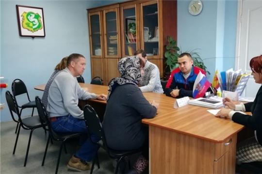 Состоялся прием граждан депутатом Собрания депутатов Яльчикского района Васильевой Мариной Геннадьевной