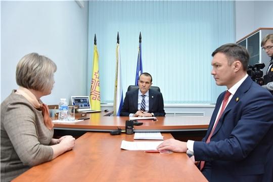 Глава Чувашской Республики Михаил Игнатьев провел прием граждан
