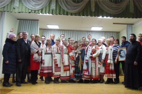В Лащ-Таябинском СДК прошло мероприятие в рамках Года театра с участием фольклорной группы «Янтал»