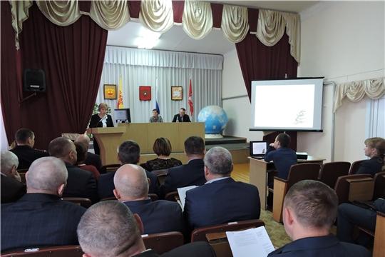 Заседание Собрания депутатов Яльчикского района