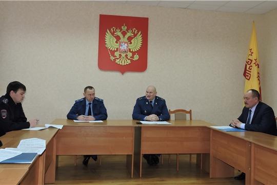 В Яльчикском районе состоялось заседание межведомственной рабочей группы по обеспечению безопасности дорожного движения