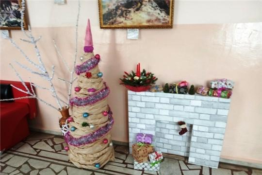 В школе открылась «Мастерская Деда Мороза»