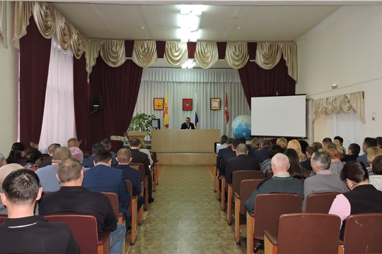 Совещание с руководителями сельхозорганизаций Яльчикского района