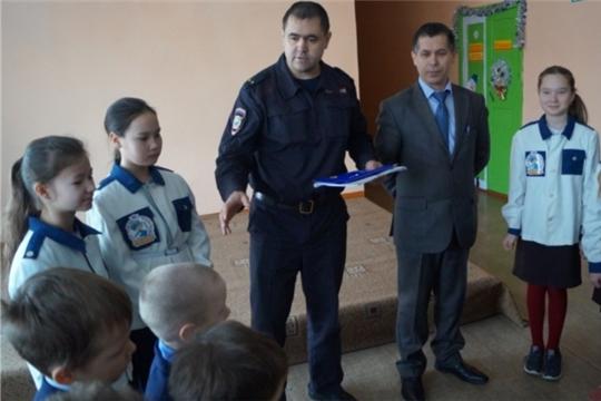 Встреча с инспектором полиции в рамках республиканской акции «Внимание - каникулы!»