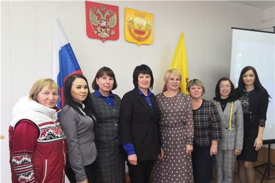 В Янтиковском районе состоялась встреча женщин-предпринимателей района