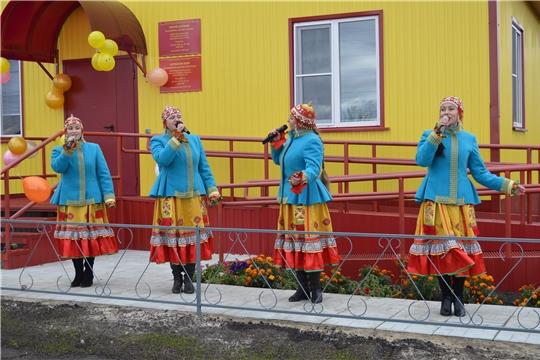 В Янтиковском районе состоялось открытие двух ФАПов