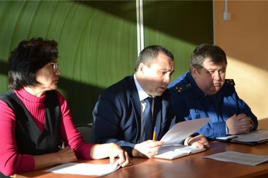 Выездное заседание Комиссии по профилактике правонарушений в Янтиковском районе