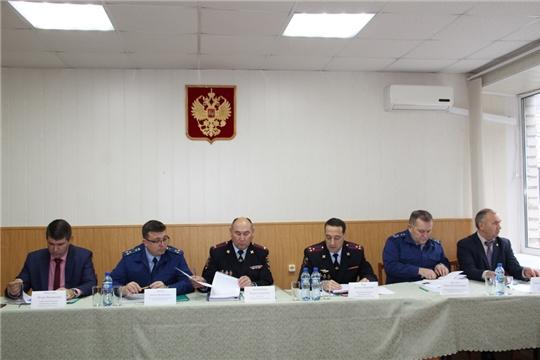 Игорь Николаев принял участие в подведении итогов работы МО МВД России «Цивильский»