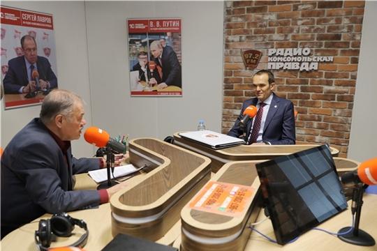Глава Чувашской Республики Михаил Игнатьев дал интервью газете «Комсомольская правда»